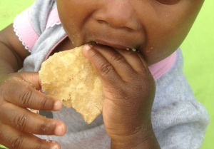 Chapati chomping